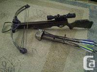 I'm selling my Excalibur crossbow that is in excellent