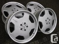 Extremely RARE set of Genuine AMG Mercedes 19""