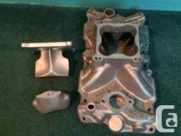 Offenhauser Dial-a-flow aluminum intake manifold for