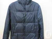 - excellent condition warm down jacket - men's size