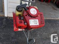 Classic 2 cycle Veseys tiller, quick start, high speed,