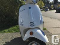Make Vespa Year 2015 kms 15000 Price Reduced! FIRST AND