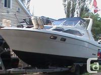 1989 2855 Bayliner Ciera Sunbridge with double wheel