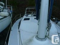 """36' Sailboat - Brightside Sold """"as is"""" to the highest"""