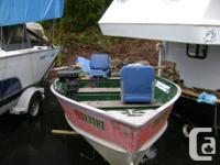 1978-14ft aluminum Lund boat. Possesses 1978 25hp