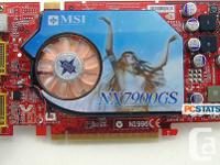 Vga Graphics Cards:   1. 2 X nVidea QuadroFX 1500 256MB