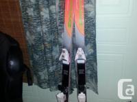 . Dynastar VHP 895 160cm skis with soloman 447 bindings