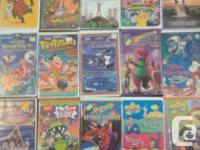 Have over 150 children and family vhs movies with