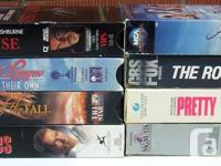 For Sale: VHS 90 Film Lot. Mixed Lot of stuff. Comes