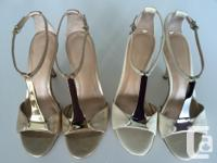 Gorgeous Via Spiga Ira T-Strap Heels. Offering $180 for