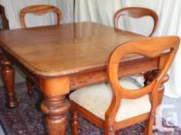 A set of 6 Victorian mahogany balloon back chairs, each