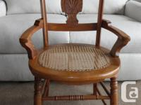 This is a lovely little chair from the early 1900's,
