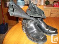size 12 victory motorcycle boots in excellent