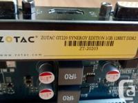 ZOTAC ZT-20203-10L GeForce GT 220 1GB 128-Bit DDR2 PCI