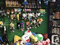 We have hundreds of different video game related plush