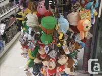 We have a large selection of popular plush toys to