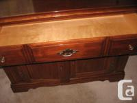 Vilas Maple Buffet (redone) which I am selling at a