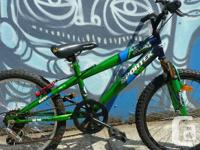 "Sportek Villain Kids Bike,. 20"" wheel,. 6 speed,. hand"