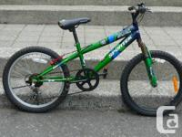 Sportex Villain Youngster's Bike,. 5 rate,. $80.  Whole