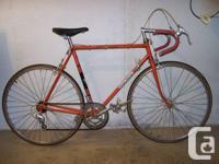 Nice vintage low-mileage Raymond Poulidor bicycle, made
