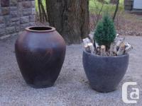 Stunning antique earthenware pot (Hangaari) from