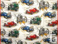 Description: Zoom Zoom. A marvellous set of 1950's race