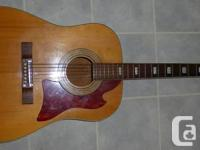 Vintage 1961 Silvertone Guitar. Made by Kay Music