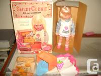 Selling a vintage doll. Sweet Cookie by Hasbro. Made