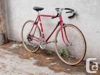 Vintage Peugeot road bike from the 1970s in great