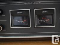 SONY TC-366 REEL-TO-REEL SOLID STATE TAPE MACHINE