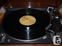 2-Speed Fully-Automatic Turntable Just restored at