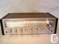 Vintage 1976 Pioneer SX-550 Stereo AM/FM Receiver