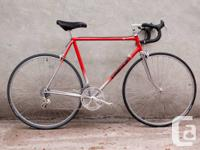 Rare vintage 1980s Cadence made in Canada road bike of