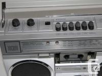 Vintage 1980'S Sanyo M9921K Cassette Recorder Radio 4
