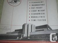 Vintage 1940's-1950's brochures from insulation firm