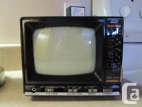 "I have a 5"" Portable Black and White Television with"