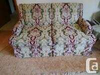 2 Vintage love seats in excellent condition; very