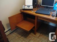 Vintage 60s Executive Desk in Tappen (Salmon Arm) Solid