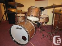 Beautiful vintage Ludwig drums, 3 piece or 4 piece ,