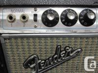 This is an amazing late 60's Fender Bandmaster Reverb