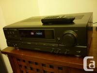 TECHNICS SA-EX140 RECEIVER 100 watts per channel,in