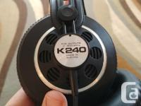 Well regarded, vintage AKG headphones in good