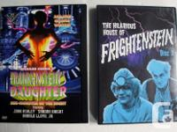 Vintage and Rare: 8 Frankenstein DVD movies 1. The