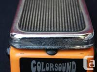 1967 Sola Sound Colorsound WAH + FUZZ Near mint all