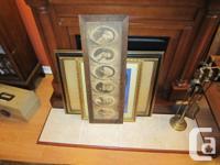 "Vintage/antique oak framed picture of ""The Great"