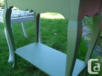 Parlour Chair milk painted in Farmhouse White and