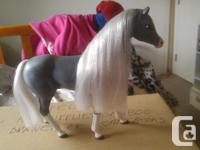 1) Barbie Brushable Blossom Beauties (Dapple Gray) -