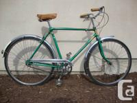 If you are into the cycle chic style, this bicycle has