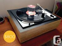 "For sale: a superb, rare, Bogen / Lenco B 62 ""Heavy"