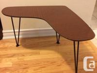 Used, Vintage rare original Boomerang coffee / end table in for sale  Ontario